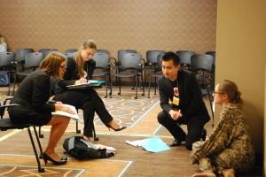 Chelsea Zimmerman interviews simulation prisoner of war