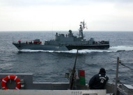The Bulgarian Navy corvette Bodri. (U.S. Navy photo by Journalist Seaman Talley Reeve/Released)