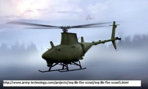 MQ-8B Fire Scout Drone