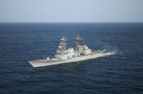 The Spruance class destroyer USS Briscoe (DD 977).  (U.S. Navy photo by Chief Journalist Alan J. Baribeau/Released)