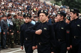 Cadets_of_the_Ichkeria_Chechen_national_guard_1999