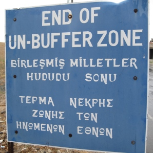 UN Buffer Zone. By Dickelbers (Own work) [CC BY-SA 3.0 (http://creativecommons.org/licenses/by-sa/3.0)], via Wikimedia Commons