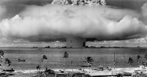 """Baker"" explosion on Bikini Atoll, Marshall Islands. 25 July 1946."