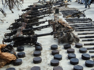 Weaponry_found_in_Afghanistan,_2011