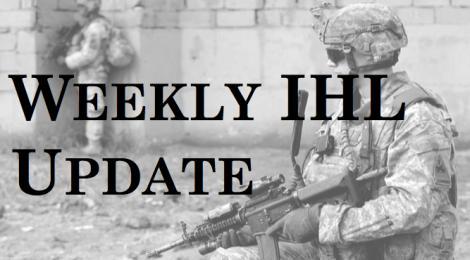Weekly IHL Update