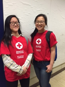 students from the Hunter College High School IHL Action Campaign team