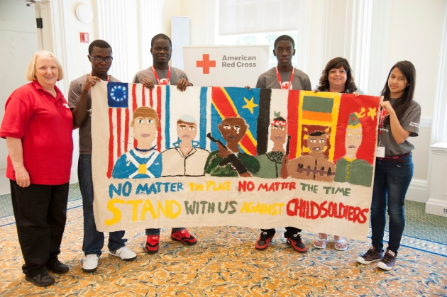 June 6, 2014. Washington, DC. International Humanitarian Law Youth Summit. Photo by Daniel Cima/American Red Cross