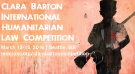 Clara Barton Competition March 12-15, 2016 | Seattle, WA