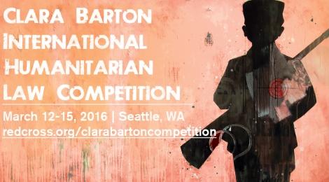 Clara Barton Competition March 12-15, 2016 | Seattle, WA