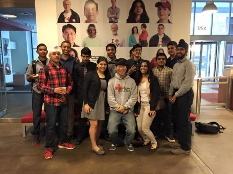 Bayside High School's 2015 IHL Action Campaign team