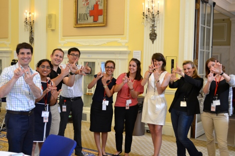 Lindsey with the IHL Team at the 2015 Youth Leadership Summit