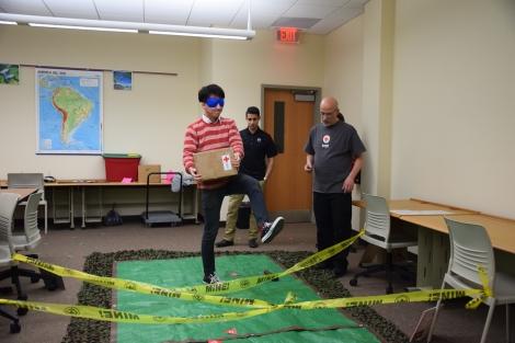 April 2016 RAID Cross event at UWS - navigating a minefield