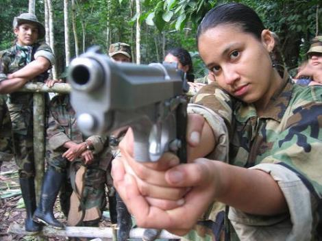 FARC soldiers (Credit: Resistance Studies, via justiceinconflict.org)