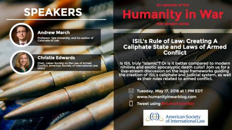 ISIL's Rule of Law-May 17